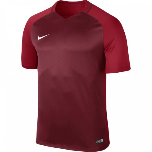 MA05-Maillot de match Nike Trophy III Manches courtes Adulte - 881483 - Rouge