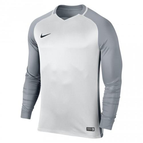 MA05-Maillot de match Nike Trophy III Manches longues Adulte - 833048 - Blanc