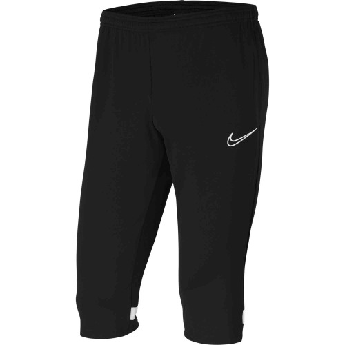 T093 - Pantalon 3/4 Nike Academy 21 adulte CW6125 - Noir