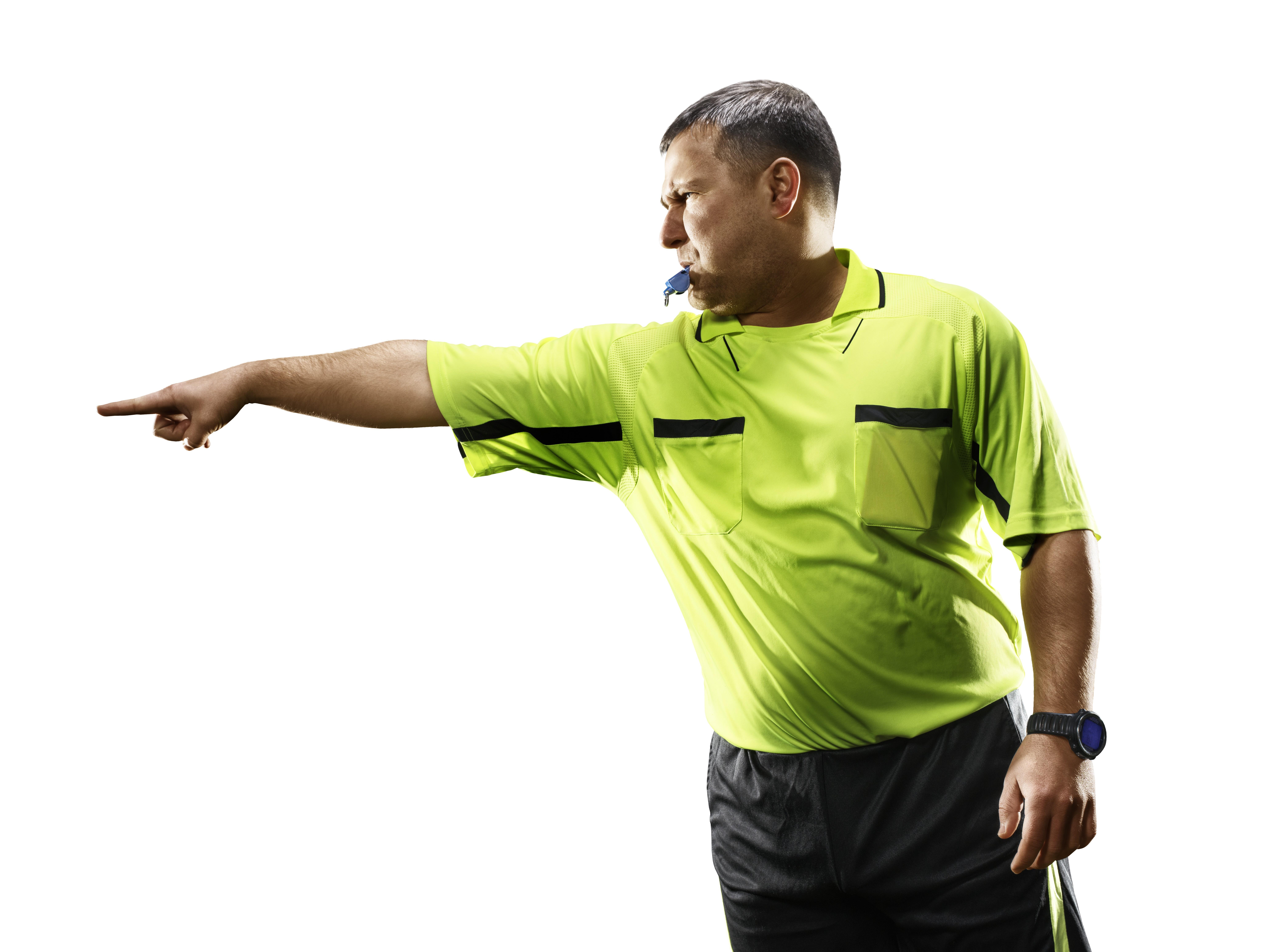 Quels sont les différents modèles de sifflet pour un arbitre de foot ?